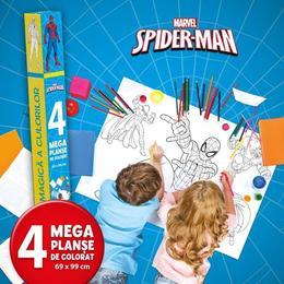 Marvel: Spider-Man - Lumea magica a culorilor (4 Megaplanse), editura Litera