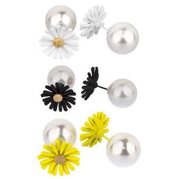 Cercei 2 in 1 Daisy Pearls - Lucy Style 2000