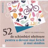 52 de schimbari uluitoare pentru a deveni mai fericit si mai sanatos - Brett Blumenthal, editura Niculescu