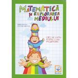 Matematica si explorarea mediului clasa pregatitoare caiet - Maria Ionescu, editura Booklet