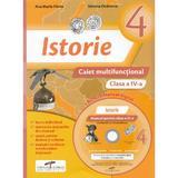Istorie - Clasa a 4-a - Caiet multifunctional + CD - Ana Maria Parvu, Simona Dobrescu, editura Cd Press