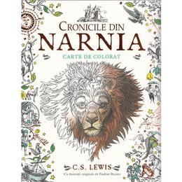 Cronicile din Narnia - Carte de colorat, editura Grupul Editorial Art