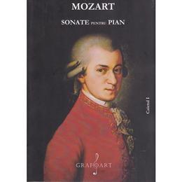 Sonate pentru pian caietul I - Mozart, editura Grafoart