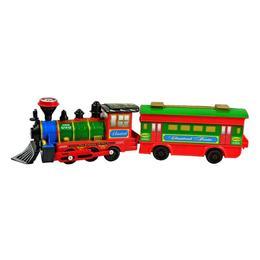 Trenulet mecanic multicolor Kiwi