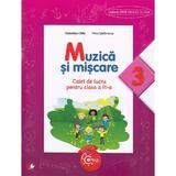 Muzica si miscare cls 3 caiet - Florentina Chifu, Petre Stefanescu, editura Litera