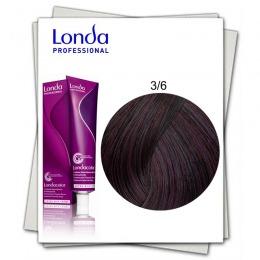 Vopsea Permanenta - Londa Professional nuanta 3/6 castaniu inchis violet