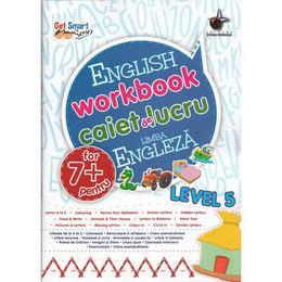 Engleza - Nivelul 5 - Caiet de lucru 7 Ani+, editura Steaua Nordului