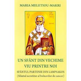 Un sfant din vechime viu printre noi - Maria Meletiou-Makri, editura Bunavestire