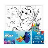 Disney Finding Dory, Puzzle coloring set. Puzzle de colorat, In cautarea lui Dory