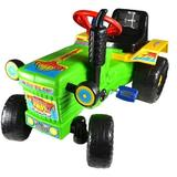 Tractor cu pedale Turbo green - Super Plastic Toys
