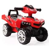 ATV fara pedale No Fear Red