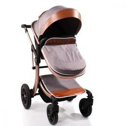 Carucior transformabil 2 in 1 Moni Sofie Grey