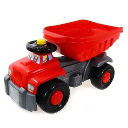 Camion basculant Carrier red - Super Plastic Toys