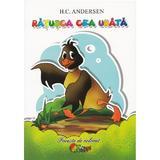 Ratusca cea urata - Carte de colorat, editura Roxel Cart