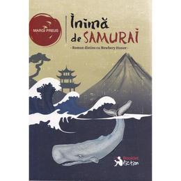 Inima de samurai - Margi Preus, editura Booklet