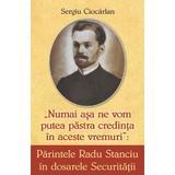 Parintele Radu Stanciu in dosarele Securitatii - Sergiu Ciocarlan, editura Egumenita