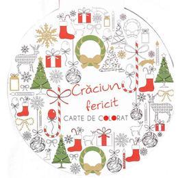 Craciun fericit - Carte de colorat, editura Didactica Publishing House
