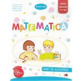 Matematica 4-5 ani. Grupa mijlocie. Caiet de activitati - Ancuta Antemir, editura Litera
