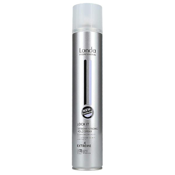 Fixativ cu Fixare Extrem de Puternica - Londa Professional Lock It Extreme Strong Hold Spray, 500ml imagine produs