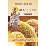 Cuvinte de aur Vol.9: Sfarsitul lumii si vesnicia - Sfantul Ioan Gura de Aur, editura Egumenita