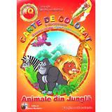Animale din jungla - Carte de colorat si activitati practice, editura Steaua Nordului