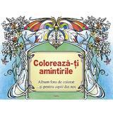 Coloreaza-ti amintirile, editura Aquila