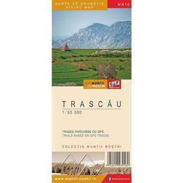 Trascau - Harta de drumetie, editura Schubert & Franzke