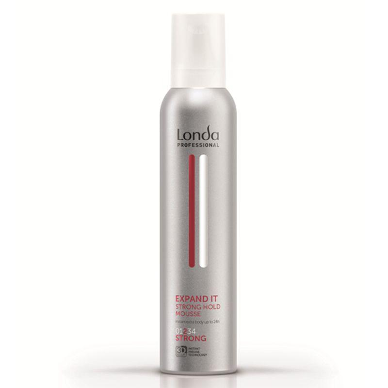 Spuma cu Fixare Strong - Londa Professional Expand It Mousse 250 ml imagine produs
