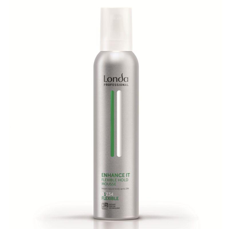 Spuma cu Fixare Flexibila - Londa Professional Enhance It Mousse 250 ml imagine produs