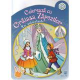 Coloreaza cu Craiasa Zapezii (cu autocolante), editura Arc