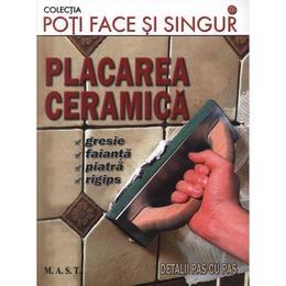 Placarea ceramica, editura Mast