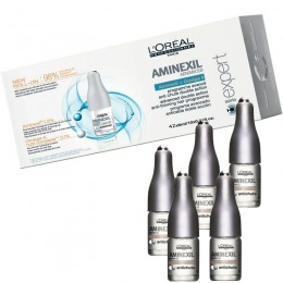 Ser Tratament Anticadere - L'Oreal Professionnel Aminexil Advanced Anti - Thinning Hair Programme 42 x 6 ml