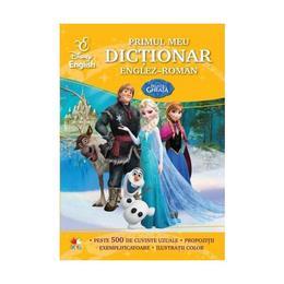 Primul meu dictionar englez-roman - Regatul de gheata, editura Litera