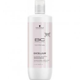 Sampon pentru Par Matur Fin - Schwarzkopf BC Excellium Plumping Shampoo 1000 ml