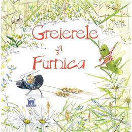 Greierele si Furnica - Esop, editura Didactica Publishing House