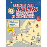 Primul meu atlas de istorie si geografie - Magda Stan, Gabriela Barbulescu, editura Litera