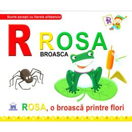 de la Rosa, Broasca - Rosa, o broasca printre flori (cartonat), editura Didactica Publishing House