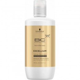 Masca pentru Par Matur Gros - Schwarzkopf BC Excellium Taming Treatment 750 ml