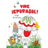 Vine Iepurasul! Carte de colorat, editura Didactica Publishing House