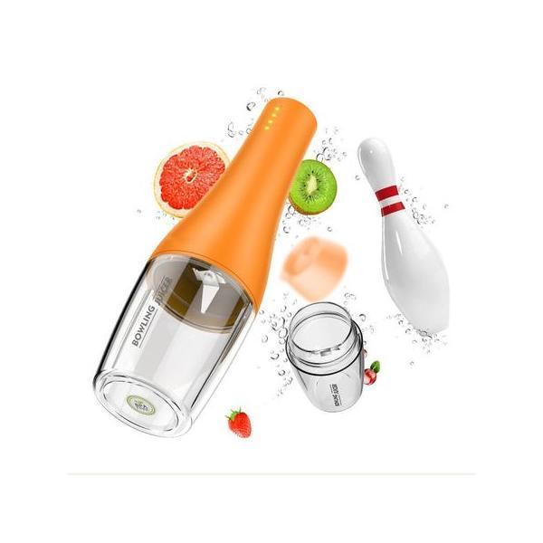 Blender portabil Shake Juicer, 350ml, baterie incorporata 2000mAh*2, incarcare USB, BPA-free