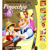 Povesti de ascultat si citit - Pinocchio, editura Flamingo