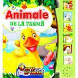 Carte cu sunete - Animale de la Ferma, editura Flamingo