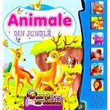 Carte cu sunete - Animale din Jungla, editura Flamingo