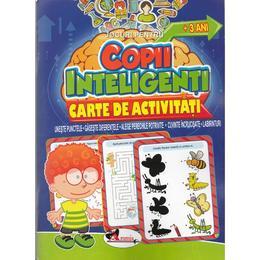 Jocuri pentru copii inteligenti. Carte de activitati +3 ani, editura Aramis