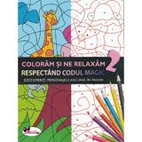 Coloram si ne relaxam respectand codul magic 2, editura Aramis