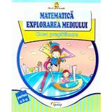 Matematica si explorarea mediului Clasa Pregatitoare - Partea II - Doina Burtila, Marinela Chiriac, editura Tiparg