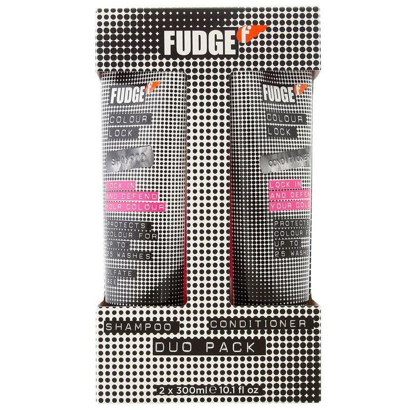 Pachet DUO Fudge Colour Lock - Sampon si Balsam pentru Par Vopsit esteto.ro