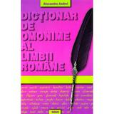 Dictionar de omonime al limbii romane - Alexandru Andrei, editura Regis