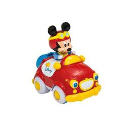 Jucarie interactiva Baby Clementoni Masinuta cu telecomanda Mickey Mouse