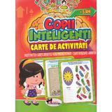 Jocuri pentru copii inteligenti. Carte de activitati +5 ani, editura Aramis